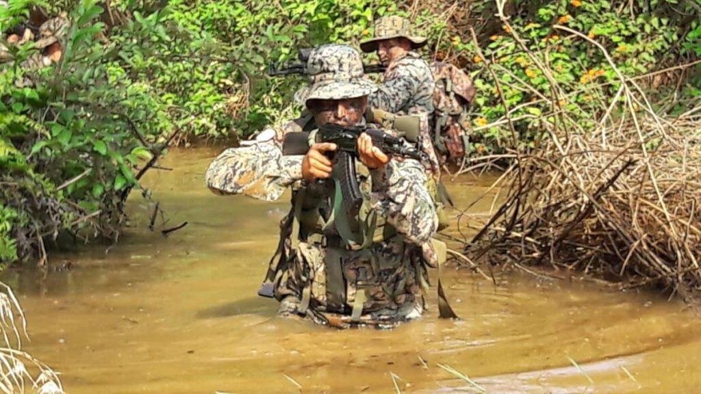 COBRA Operatives on a reconnaissance operation for 6 days