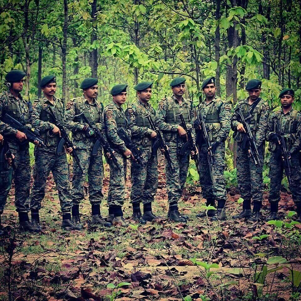 COBRA Operators deployed in the jungles of Chattisgarh