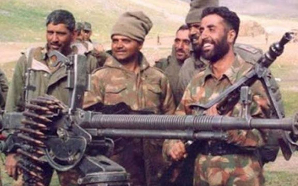 Kargil Legend and Param Veer Chakra Awardee Capt. Vikram Batra on the right