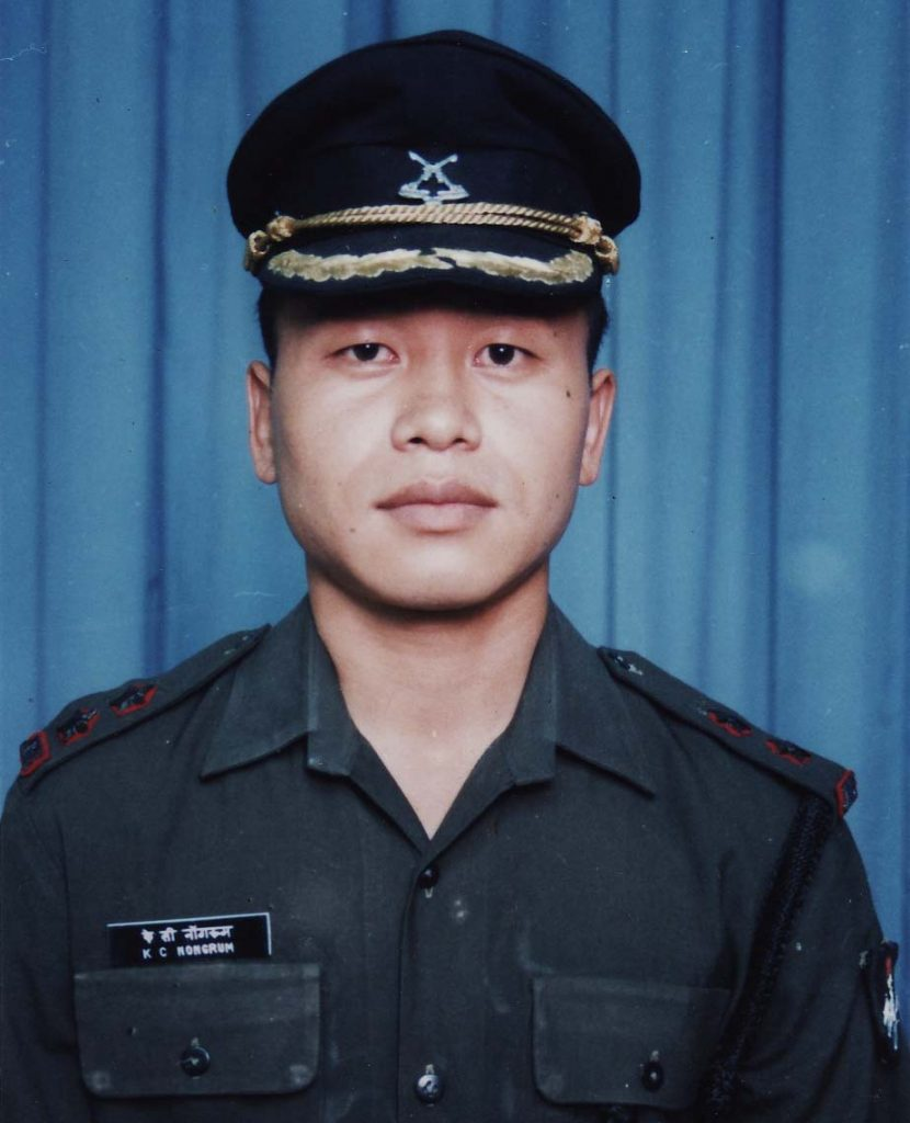 Captain Clifford Nongrum was posthumously awarded the MVC in Kargil