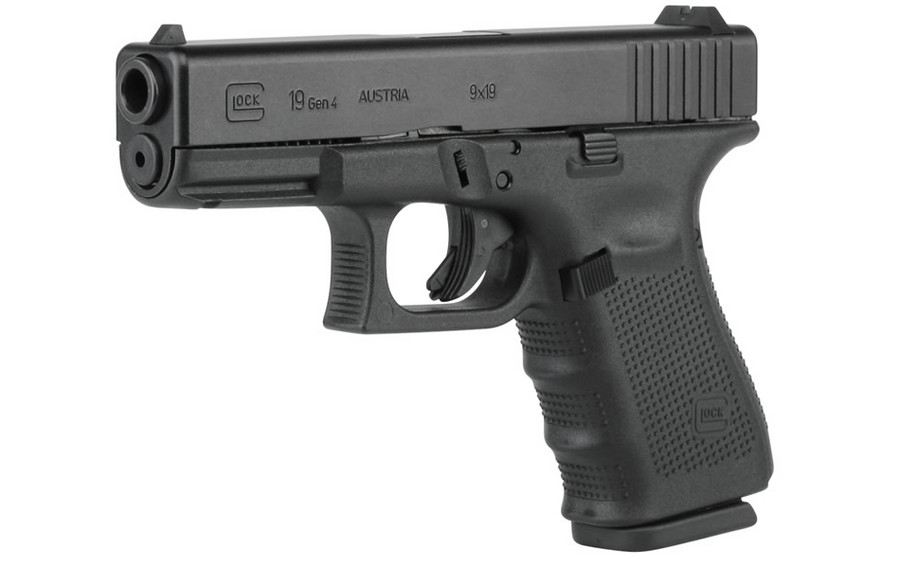 Glock 19 9mm pistol sported by COBRA's