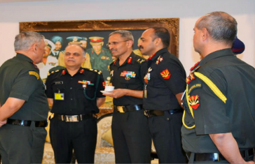 Army Chief Visits Eastern Command HQ To Review Operational Readiness