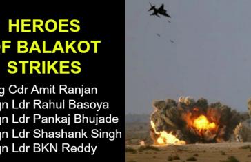 HEROES OF BALAKOT STRIKES