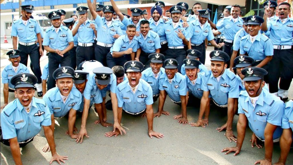 Indian Air force Cadets Showcasing their Josh  after Passing out!