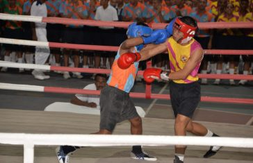 Indian Naval Academy: Daredevil Squadron Wins This Years Inter Squadron Boxing Tournament