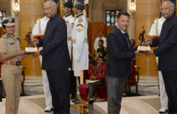 Two Himalayan Veers Conferred Presidential Award For Adventure Sports