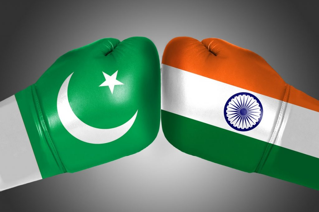 Confrontation between India and Pakistan