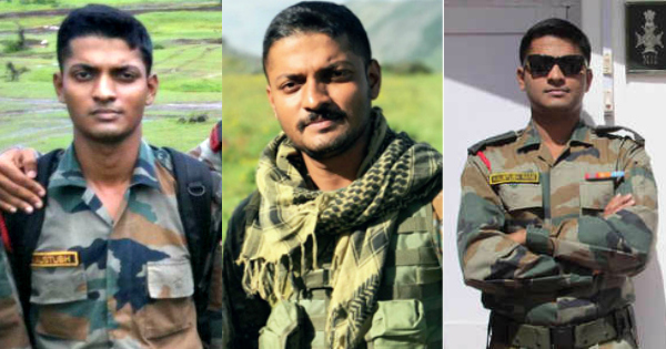 Major Kaustubh Rane was posthumously warded the 'Bar to Sena Medal' on 15th August