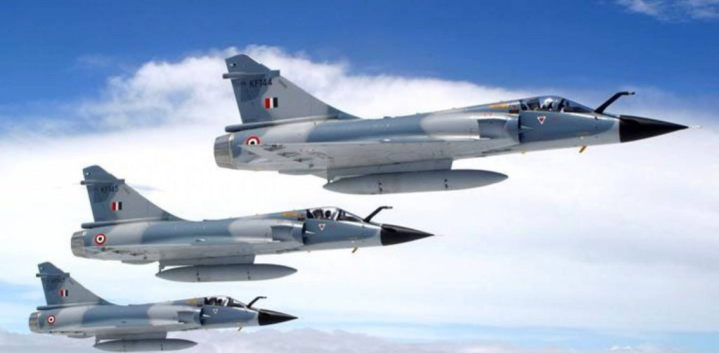 Mirage 2000 Fighters used in Operation Bandar