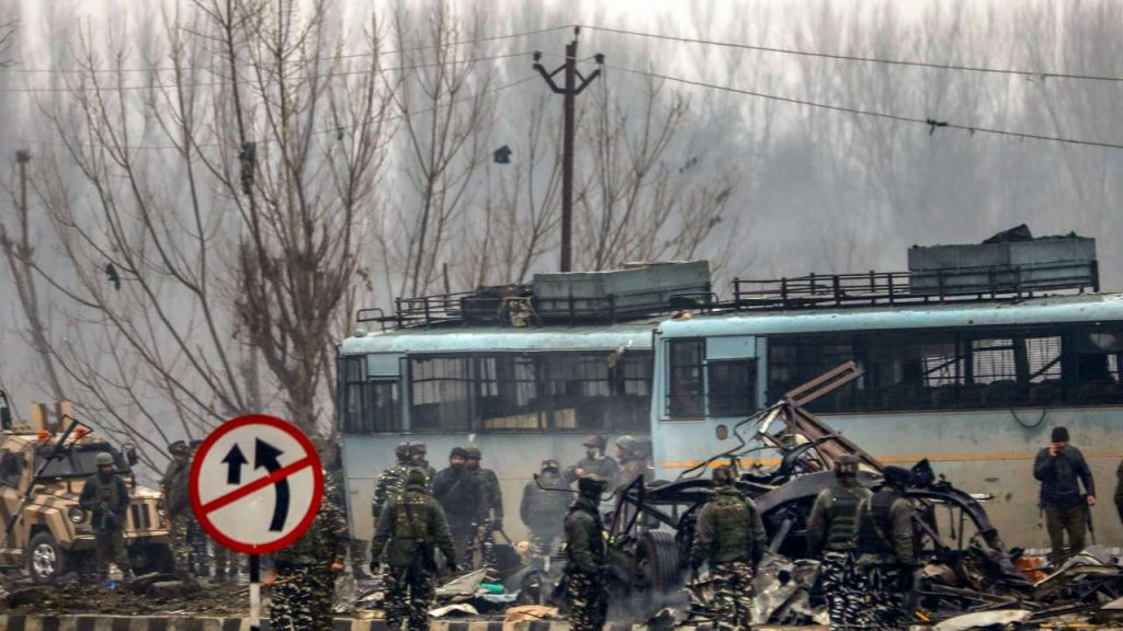 Aftermath of the Pulwama terror attack
