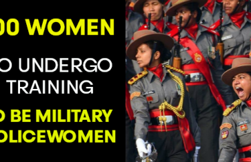 First Batch of Military Policewoman To Start Basic Training