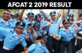 AFCAT 2 2019 RESULT