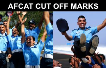 AFCAT CUT OFF MARKS