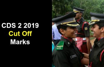 CDS 2 2019 Cut Off Marks