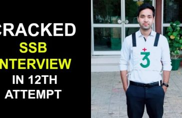 CRACKED SSB INTERVIEW IN 12TH ATTEMPT