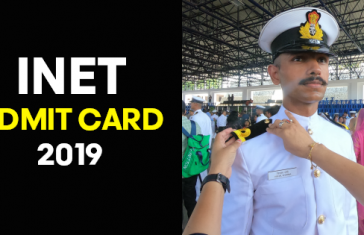 INET Admit Card 2019 Indian Navy - joinindiannavy.gov.in