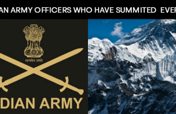 3 Indian Army Officers Who Have Scaled Mount Everest