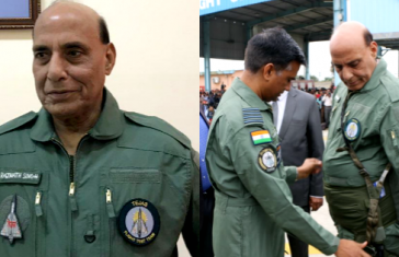 Rajnath Singh Becomes 1st Defence Minister To Fly On Tejas
