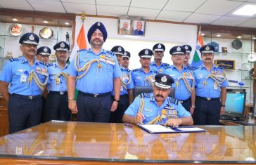 Air Chief Marshal RKS Bhadauria takes over as the 26th Chief of the Air Staff