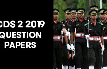 cds 2 2019 question papers