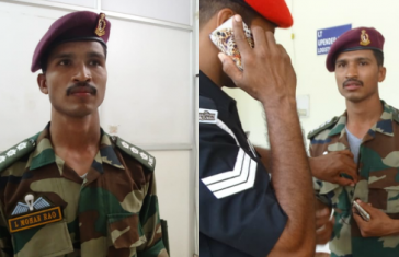 fake indian army officer