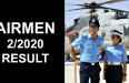 AIRMEN 22020 RESULT