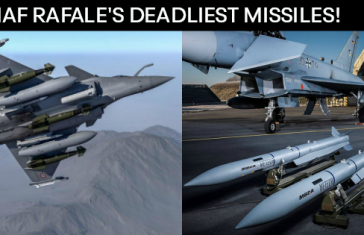 3 Deadly Missiles Which Will Make The Rafale A Nightmare For The Enemy