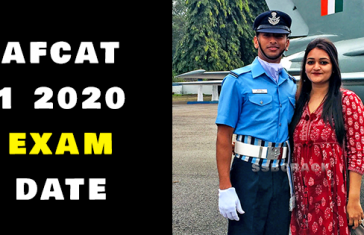 AFCAT 1 2020 Will Be Conducted On  22 & 23 Feb 2020
