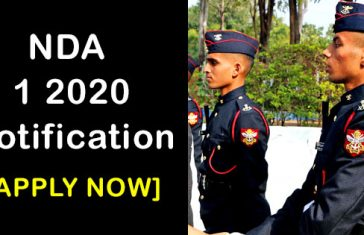 nda-1-2020-notification