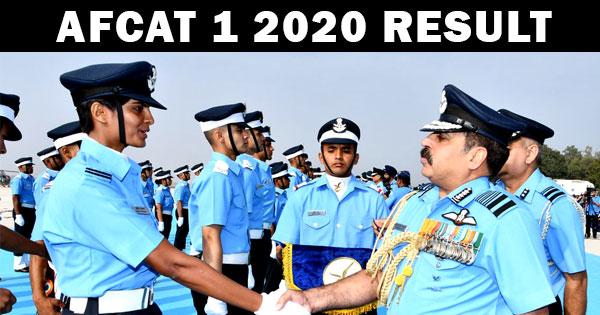 AFCAT-1-2020-RESULT
