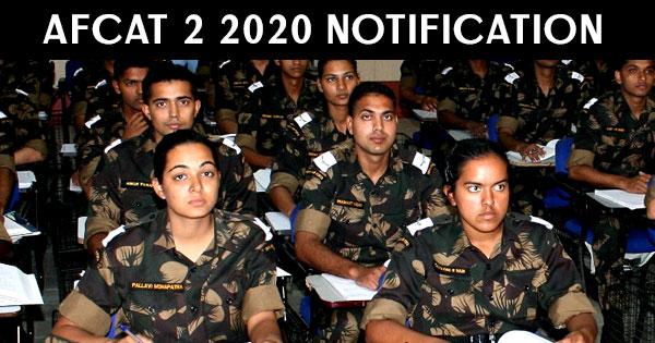AFCAT-2-2020-Notification