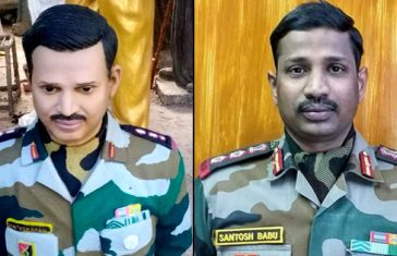 Colonel-Santosh-Babu-Bust