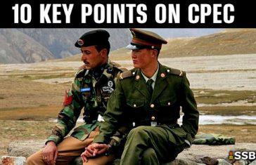 10 Points On China–Pakistan Economic Corridor