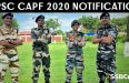 UPSC CAPF Notification 2020 (Out): Download Official Notification