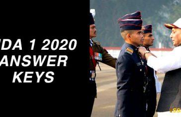 nda-1-2020-answer-keys