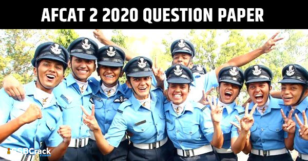 AFCAT-2-2020-Question-Paper