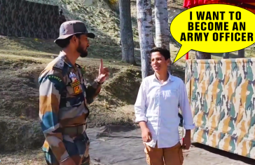 Indian Army Officer Adopts Deaf & Mute Boy From Kashmir