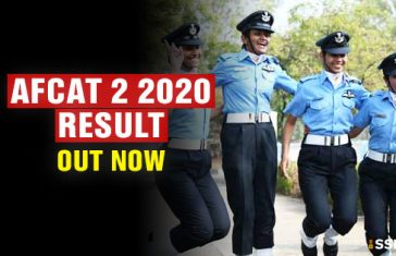 AFCAT 2 2020 Result Published [Check Marks]