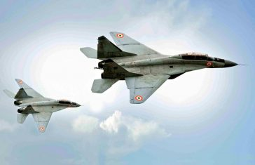 Indian Navy's MiG-29K Crashes, One Pilot Rescued, Another Missing