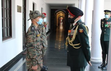 Vietnamese Cadets Pipping Ceremony Held At IMA In Advance