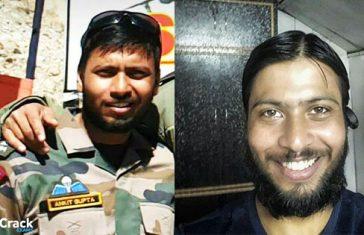 Captain Ankit Gupta 10 PARA SF Lost His Life During Training