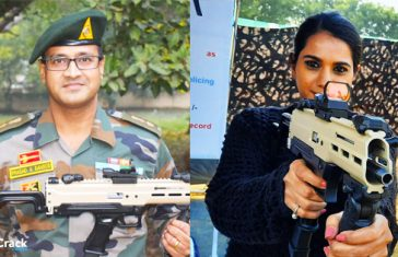 "Lt Col Prasad Bansod Made India's First Indigenous 9 Mm Machine Pistol ""ASMI"""