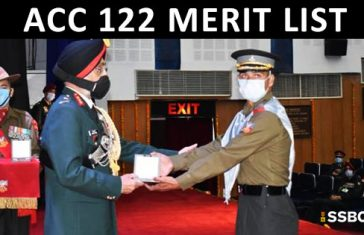 ACC 122 Merit List Out– 27 Candidates Recommended
