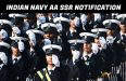 Indian Navy AA SSR Notification 2021
