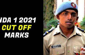 NDA 1 2021 Cut Off Marks [Expected]