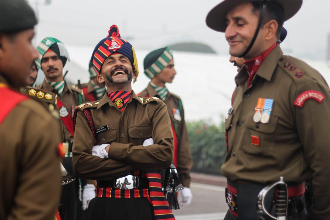 indian army composition