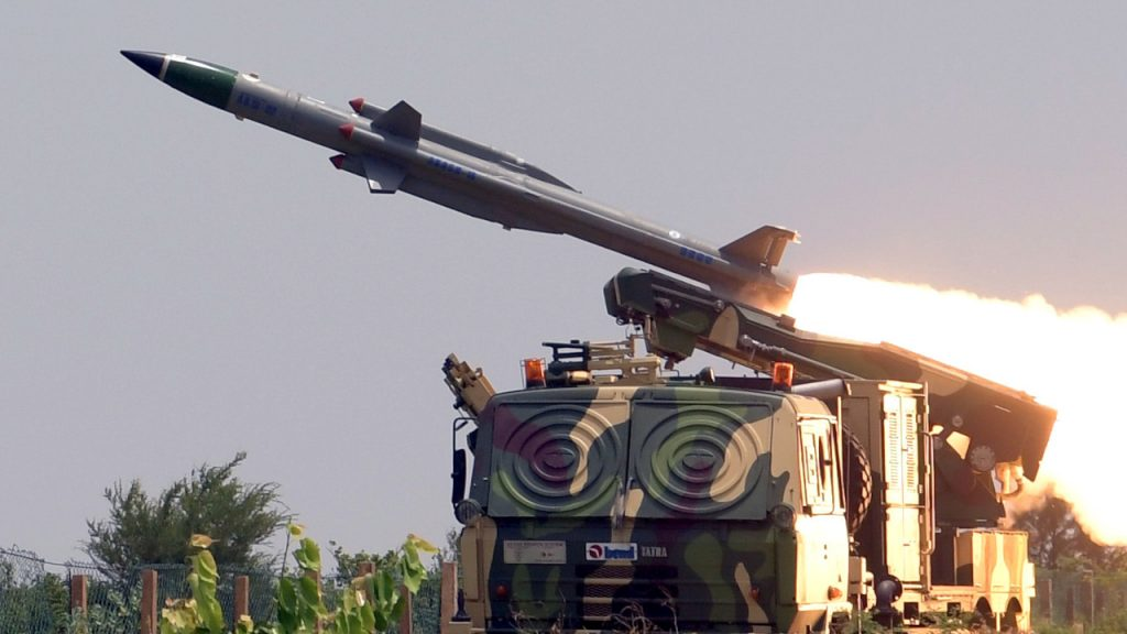 Akash Surface-To-Air Missiles System