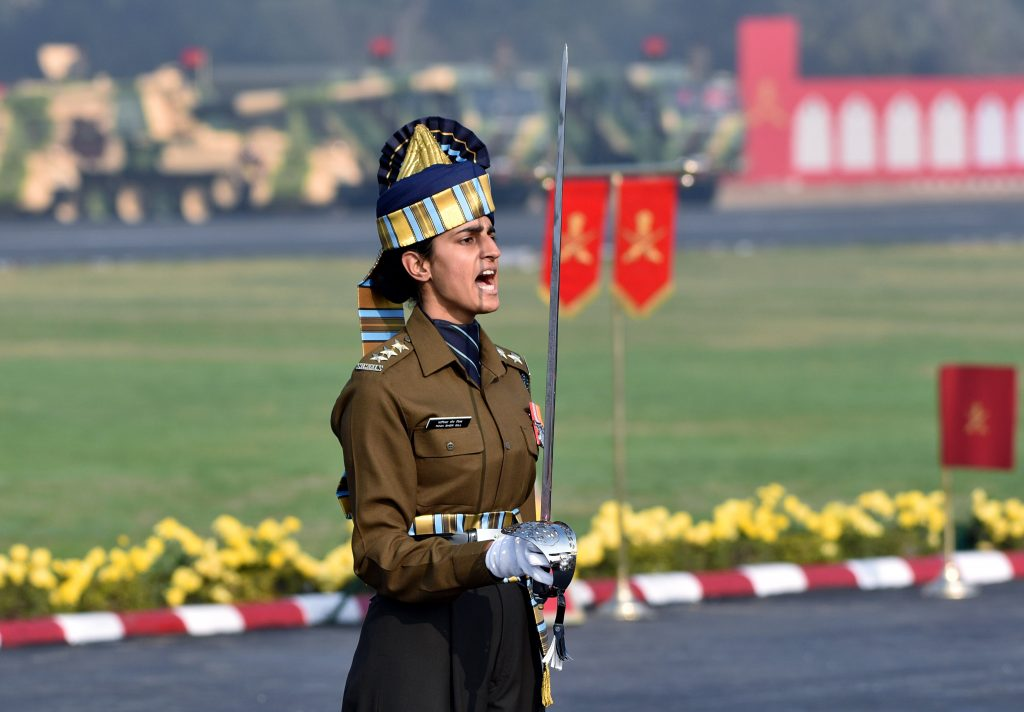 indian army women PC