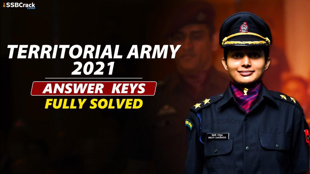 TA Exam answer keys 2021